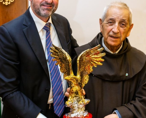 Acquila d'Oro a Padre Gianmaria Polidoro